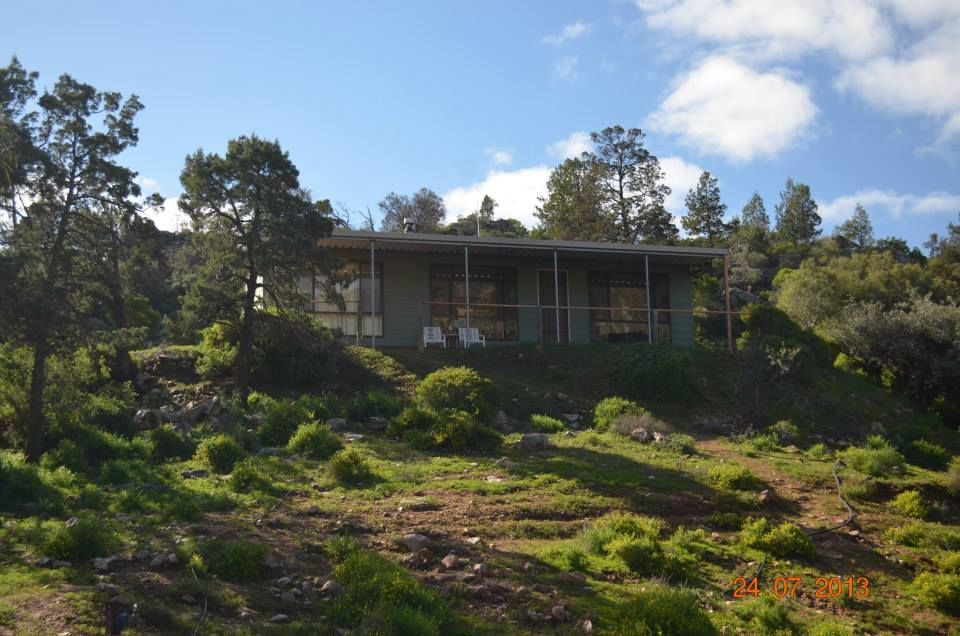 Flinders Ranges:  Horseshoe Rim Wilderness Cabin (sleeps up to 10)