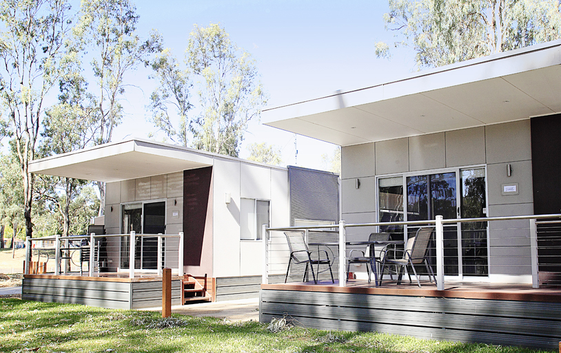 Echuca-Moama: Maidens Inn Holiday Park (sleeps up to 7)